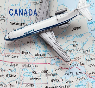 Flights within Canada on sale until July 2, 2020