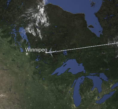 Book your cheap flights to Winnipeg with FlyForLess.ca