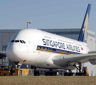 Book your Singapore Airlines cheap flights at FlyForLess.ca