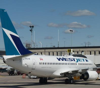 Book your WestJet cheap flights with FlyForLess.ca