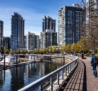 Book your WestJet fares to Vancouver at FlyForLess.ca